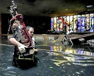 Torah being saved in New Orleans