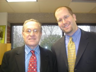 Alan Dershowitz & Rabbi Jason Miller