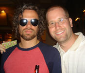 Michael Glabicki of Rusted Root with Rabbi Jason Miller