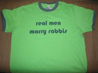 real men marry rabbis